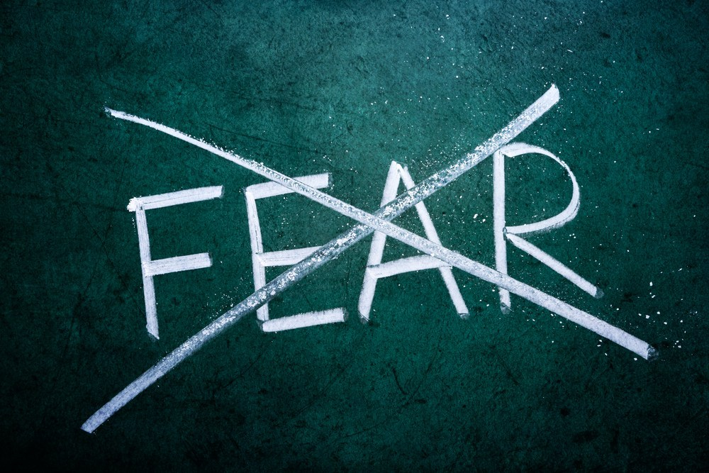 For what reason Do So Many of Us Live in Fear?